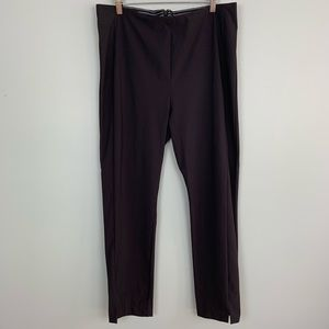 Athleta Black Tapered Leg Pants Size 16